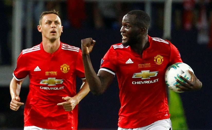 New signings Romelu Lukaku and Nemanja Matic will be crucial to Manchester Uniteds title aspirations in the upcoming Premier League season. Reuters