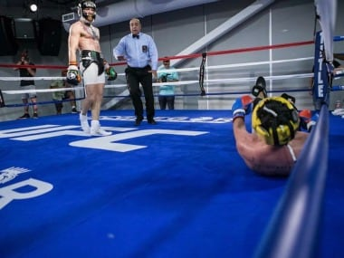 Paulie Malignaggi was incensed with misleading leaked photos while sparring Conor McGregor. twitter.com/@dillondanis