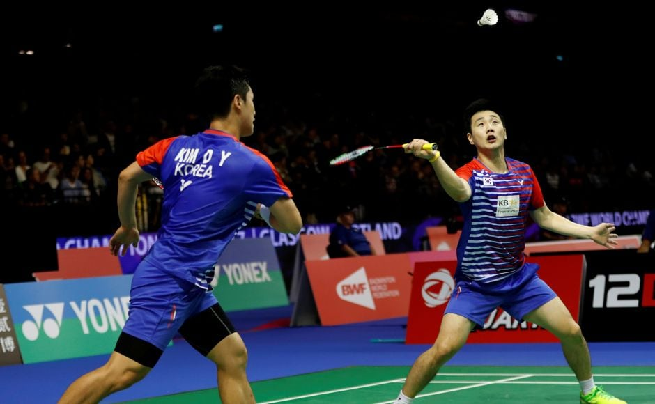 However, it was the South Korean pair that advanced through to the next round. Reuters