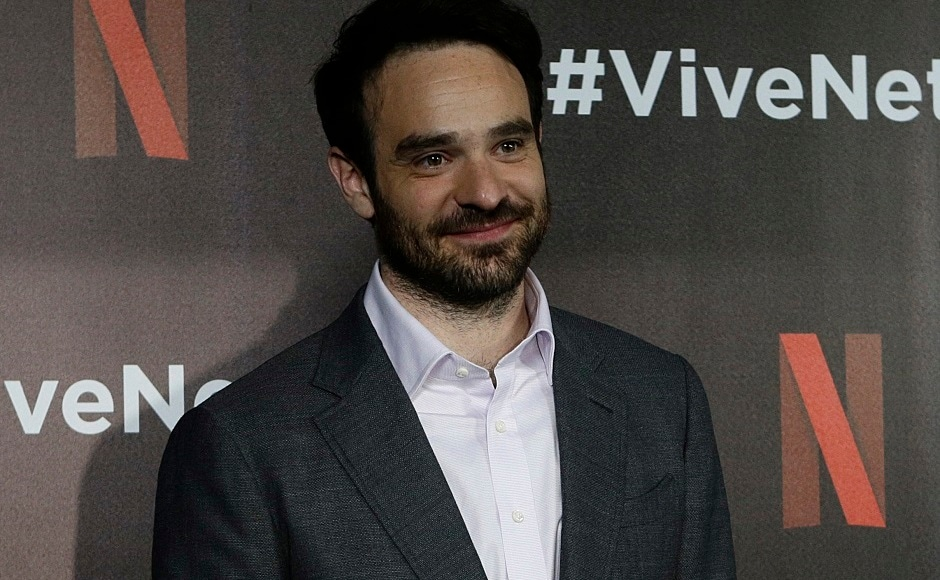 Actor Charlie Cox from the Netflix series The Defenders poses for photos at a red carpet event in Mexico City, Wednesday, 2 Aug, 2017. AP Photo/Marco Ugarte