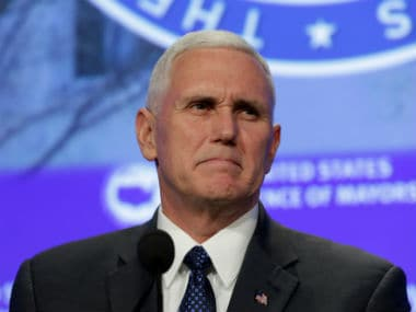 File image of US vice-president Mike Pence. Reuters