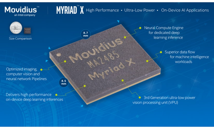 Movidius Myriad X features