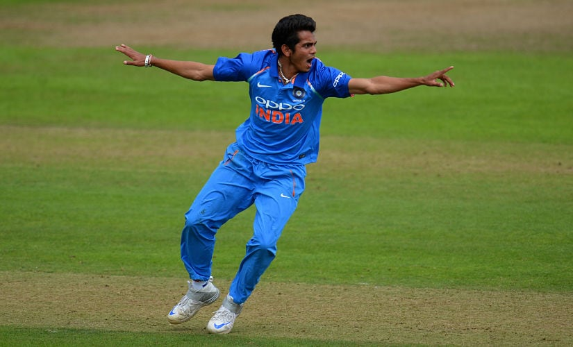 Nagarkoti has been highly rated in the Indian cricketing circles. The athletic right-arm fast bowler, who has got a very good run-up along with acceleration and ability to generate a lot of pace and bounce, was the highest-wicket taker in the England 'Tests'. Getty