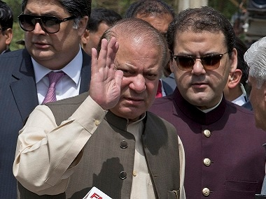 File image of Nawaz Shairf. AP