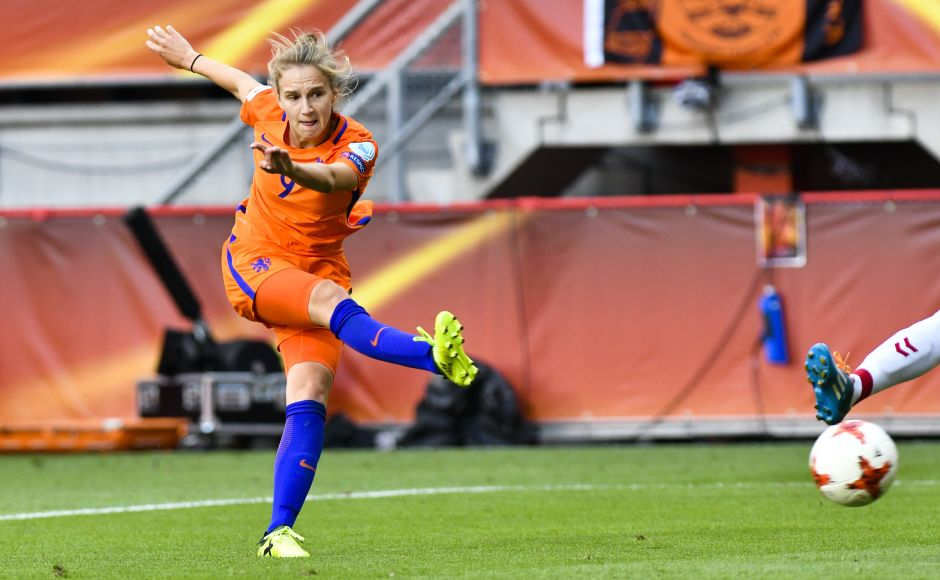 Sherida Spitse scored a free kick early in the second half before Vivianne Miedema put the result beyond doubt with a brilliant run and finish in the 89th minute. AP