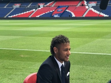 Neymar's transfer to Paris-Saint Germain broke the transfer fees record. twitter.com/@PSG_English