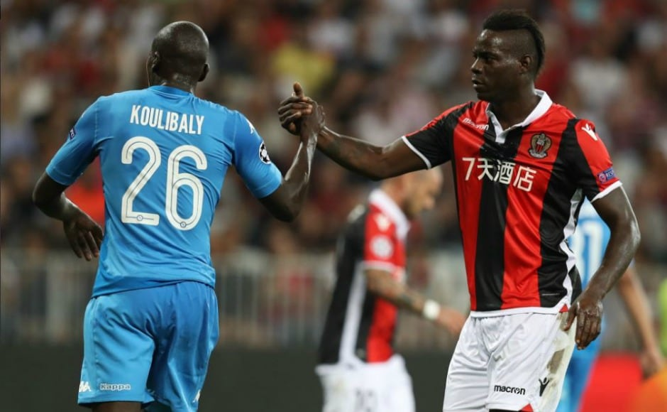 Mario Balotelli did take part in this leg of play-off tie but was heavily criticised by coach Lucien Favre. The coach claimed the striker had a 'negative performance'. Image Courtesy: Twitter @ChampionsLeague