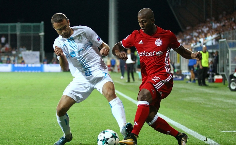 Greek Champions Olympiacos traveled to Croatia for their second leg tie of Champions League play-offs against HNK Rijeka. Reuters