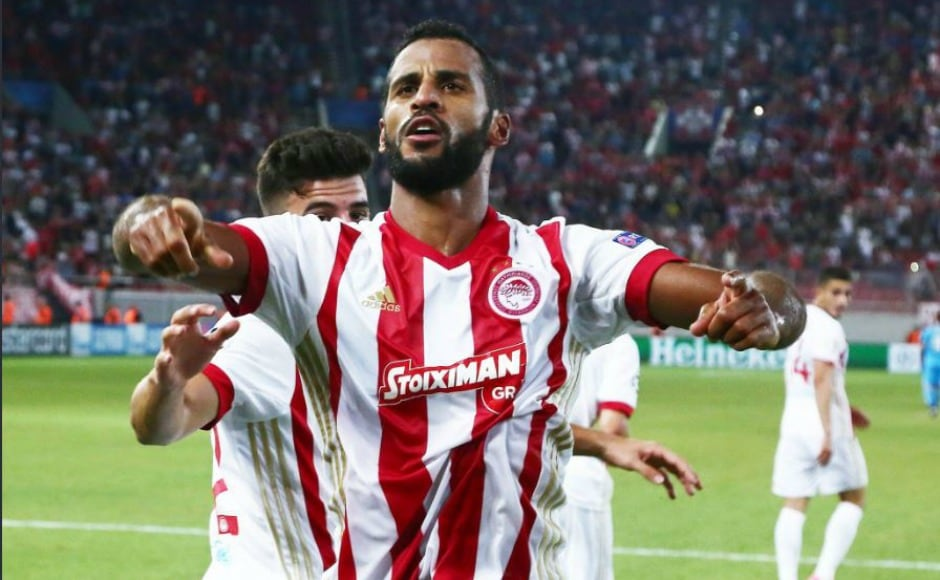 Greek champions Olympiacos defeated Croatian side Rijeka by 2-1 at Karaiskakis Stadium in Piraeus. After going a goal down, Olympiacos showed a gritty display to win the first leg. Twitter @ChampionsLeague