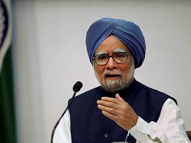 File image of Manmohan Singh. PTI