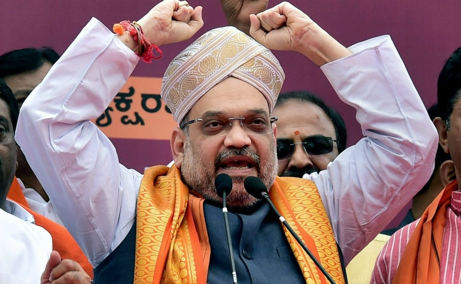 "Attacking the Karnataka government, Amit Shah said he has not seen any other establishment in the country ""as much corrupt and shameless"" as the one led by Siddaramaiah. PTI"