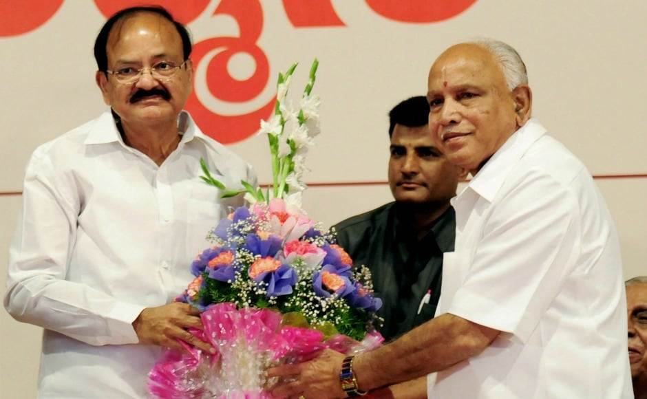 Vice-President-elect Venkaiah Naidu, who will also be ex officio chairperson of the Rajya Sabha, said that he was happy that he was the second person from Karnataka after BD Jatti to get such an opportunity. PTI