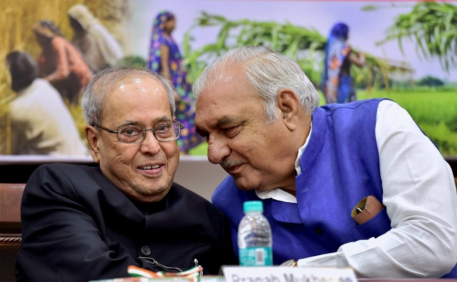 Former president Pranab Mukherjee and former Haryana chief minister Bhupinder Hooda also attended a function to release a book 'Parliamentary contribution of Bishwanath Roy, a veteran freedom fighter in nation building' in New Delhi. PTI