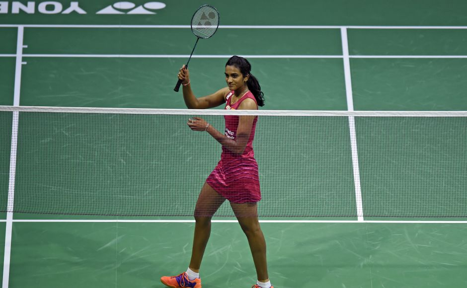 India's PV Sindhu guaranteed herself a third World Badminton Championships medal after beating Sun Yu of China 21-14, 21-9. AFP