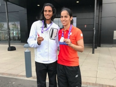 PV Sindhu settled for a silver medal after an epic battle against Nozomi Okuhara of Japan in the World Badminton Championships 2017 final. Image Courtesy: Twitter @virenrasquinha