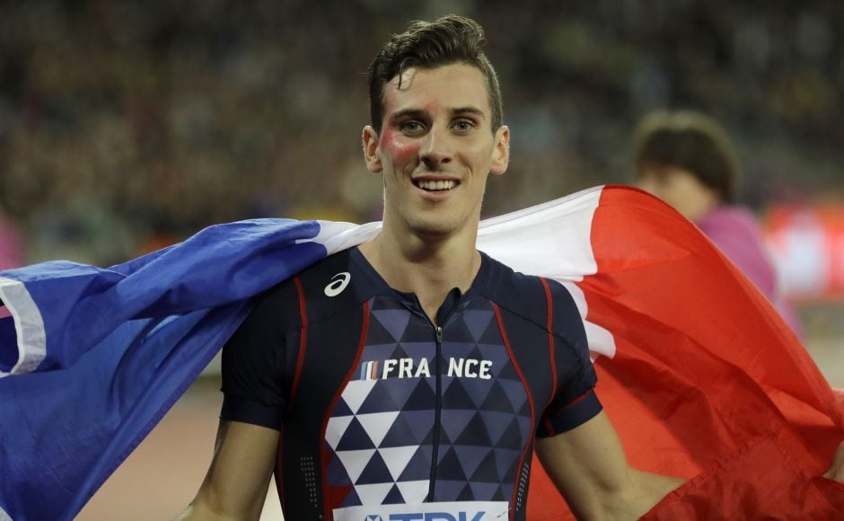 Pierre-Ambroise Bosse, who was fourth at the Olympics last year, won in 1 minute, 44.67 seconds, .28 seconds ahead of Adam Kszczot of Poland. AP