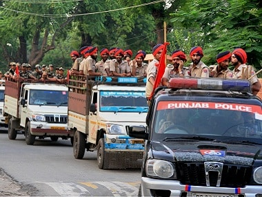 Punjab police and paramilitary forces have been deployed in large numbers in Panchkula. PTI