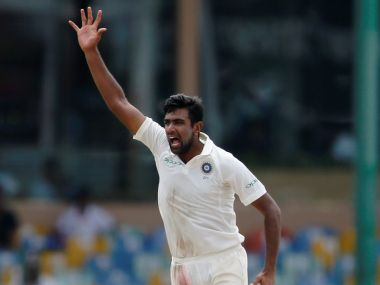 India's Ravichandran Ashwin in action against Sri Lanka. Reuters