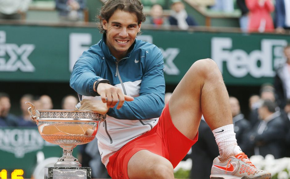 Spain's Rafael Nadal secured his third Laureus Statuette, when he won the Laureus World Comeback of the Year Award in 2014, returning after a seven-month absence because of injury to win the French Open and US Open Grand Slam titles and regain his No 1 world ranking in 2013. Reuters