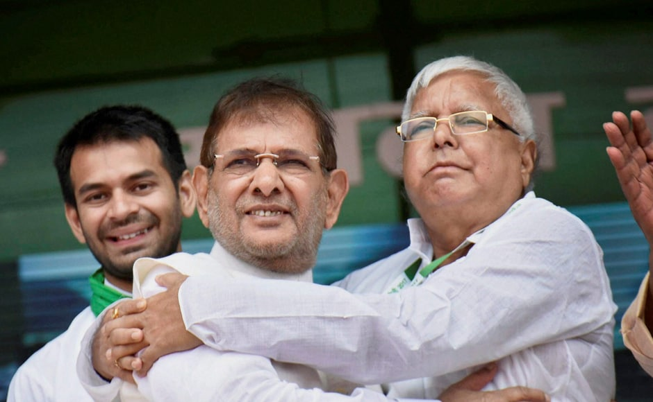 JD(U) leader Sharad Yadav was the only member from his party to attend the rally. JD(U) spokesperson KC Tyagi said Yadav's participation in the rally of an Opposition party was a fit case for disqualification under Schedule 10 of its constitution as it amounted to anti-party activity. PTI
