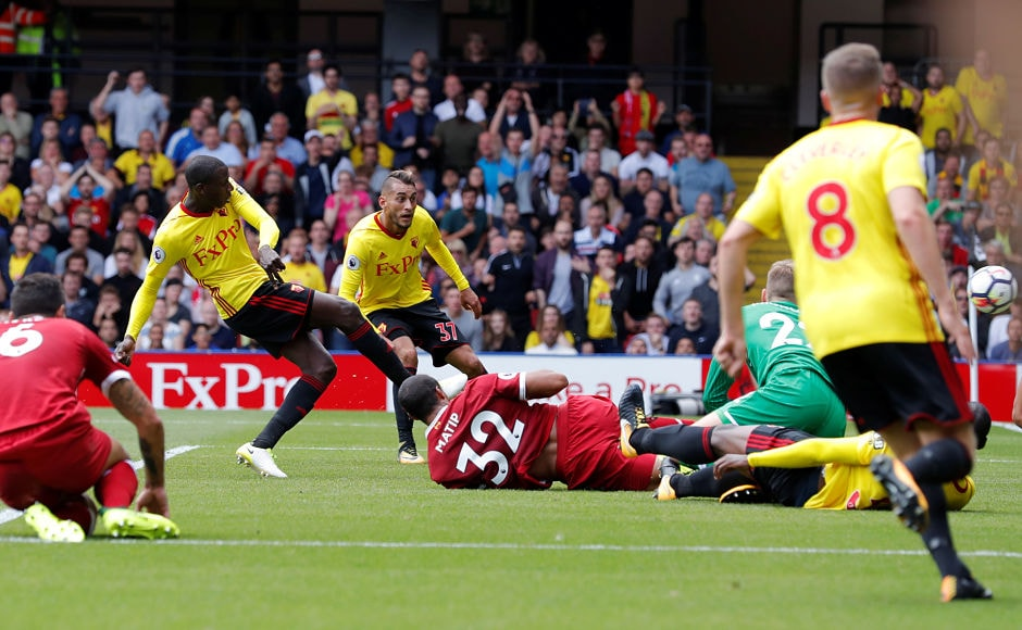 The tie had goals written all over as only in the 32nd minute, Abdoulaye Doucoure scored Watford's second goal and Liverpool once again found themselves behind in the match, at 1-2. Reuters