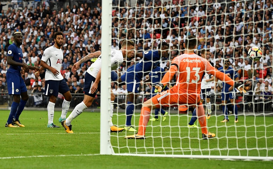 Michy Batshuayi who came as a second-half substitute, headed one back into his own net giving Spurs the equalisier in the 82nd minute of the match. Reuters