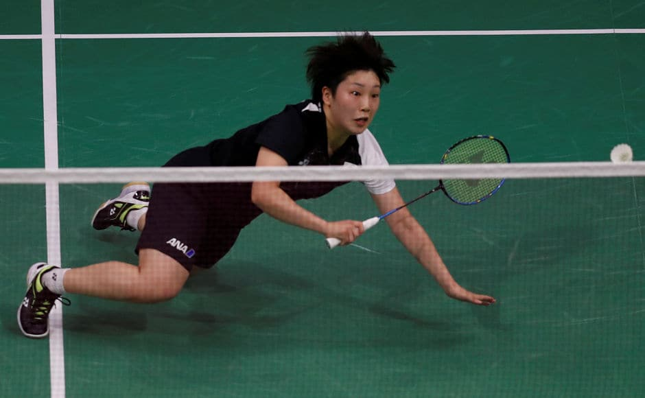 Japan's Akin Yamaguchi was surprisingly defeated by China's Chen Yufei in straight sets. Reuters