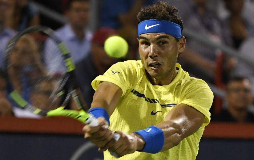 Rafael Nadal is the top seed at this year's US Open. Can he live up to his seeding? Reuters