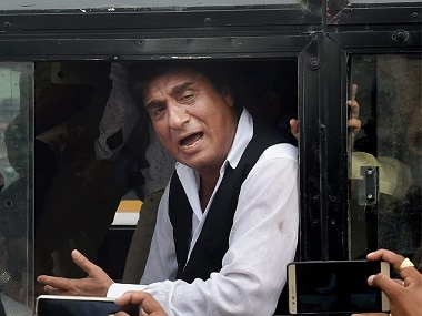 Raj Babbar was detained during a protest in Lucknow. PTI