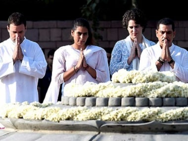 Rajiv Gandhi birth anniversary: Top Congress leaders pay tribute to former prime minister