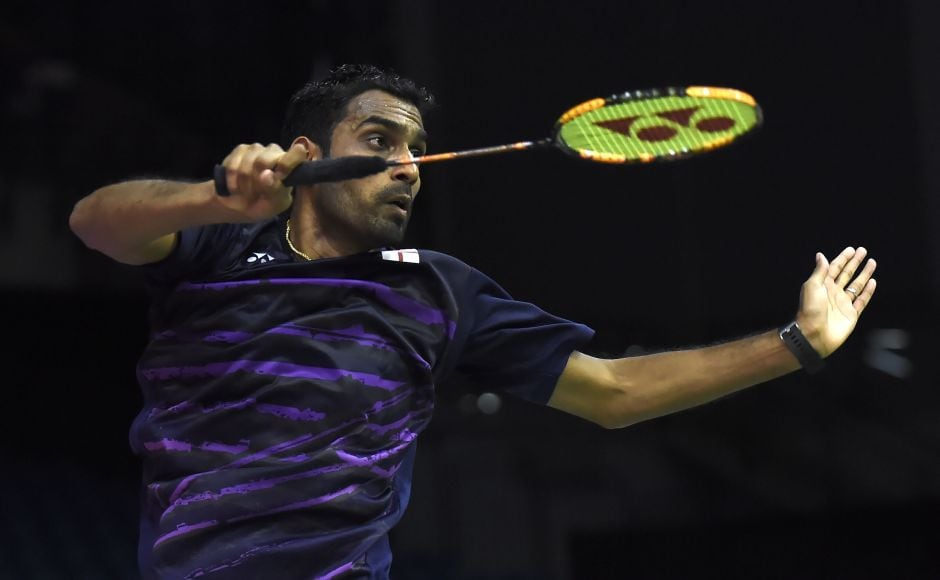 England's Rajiv Ouseph won against Czech Adam Mendrek and he will face Sameer Verma in the second round. AFP