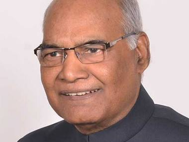 File image of Ram Nath Kovind. Twitter@ airofficial
