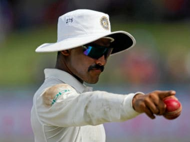 Ravindra Jadeja was named 'Man of the Match' in the second Test against Sri Lanka for his all-round performance. Reuters
