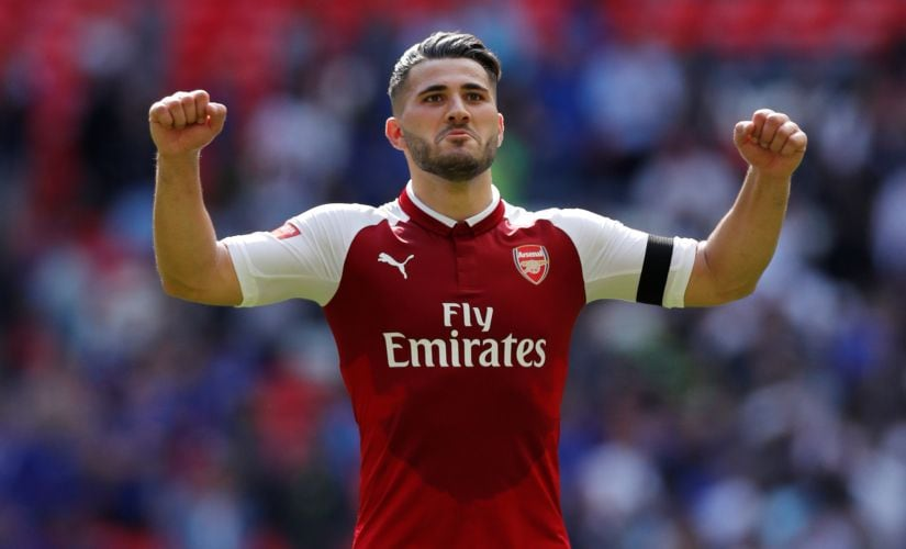 With the three-at-the-back formation, the versatile Sead Kolasinac is a two-in-one player: solid in defence, destructive as a wingback. Reuters