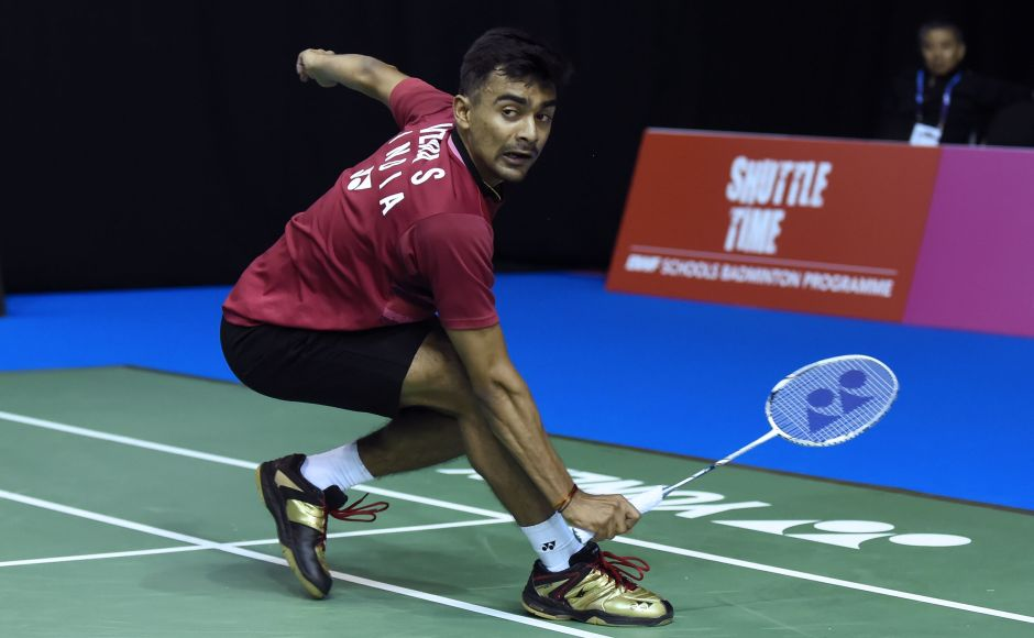 Sameer Verma won his match after his opponent, Spain's Pablo Abian retired in the second game. AFP