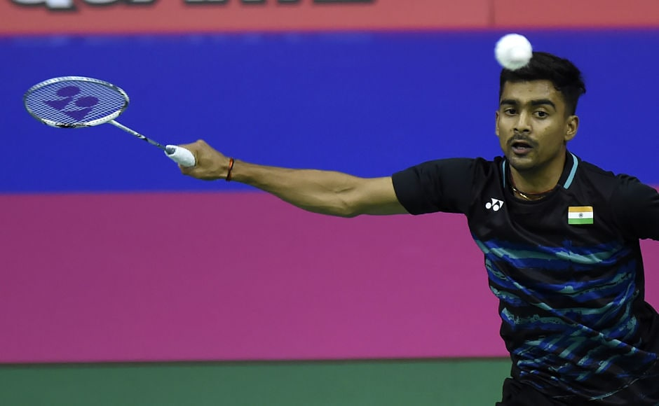It was largely a good day for India. Sameer Verma lost hismatch against England's Rajiv Ouseph during their round two mens's singles match during the 2017 BWF World Championships of badminton. AFP