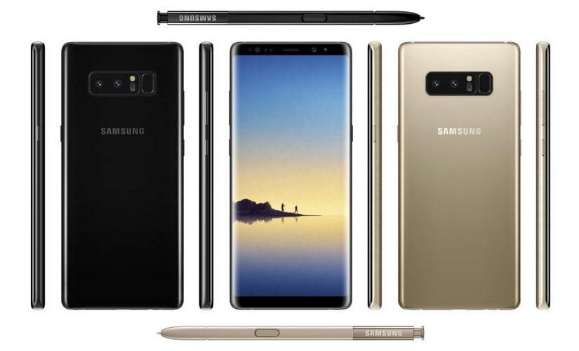 The Samsung Galaxy Note 8. Venture Beat