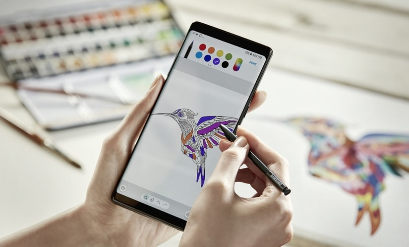 The Samsung Galaxy Note 8 Infinity Display