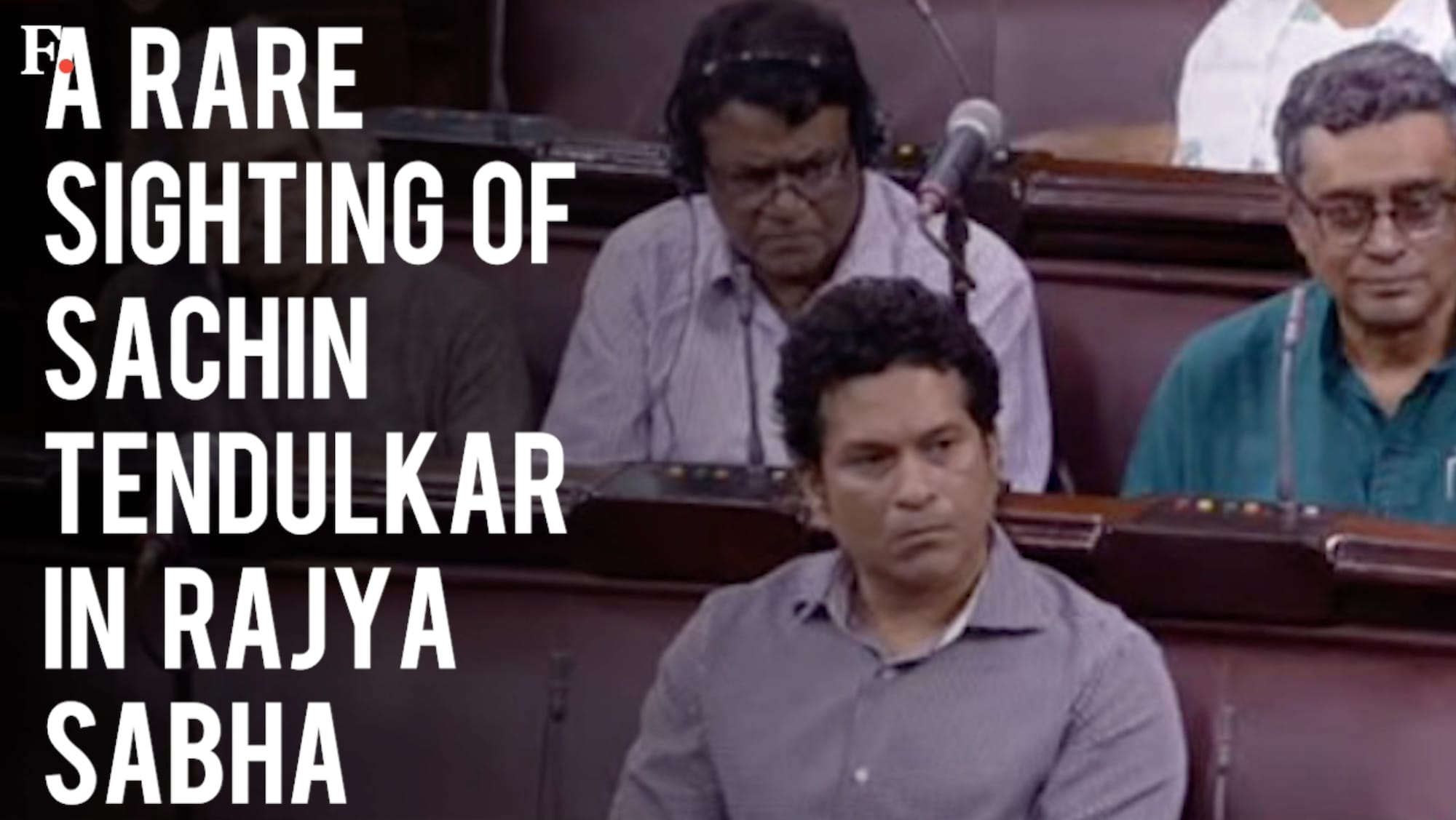 Sachin Tendulkar attends Rajya Sabha: 'Master bunker' gets trolled on Twitter after rare appearance in Parliament