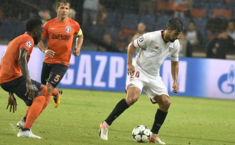 Wissam Ben-Yedder scored in the 84th minute to earn Sevilla a 2-1 victory against Istanbul Basaksehir. The Spanish side hold an advantage of two away goals. Twitter @SevillaFC