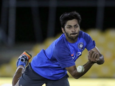 Shardul Thakur is yet to make his debut despite earning his maiden call-up a year ago. AP