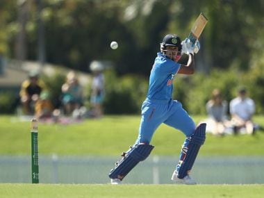 File image of Shreyas Iyer in action for the India A cricket team. Image courtesy: News18