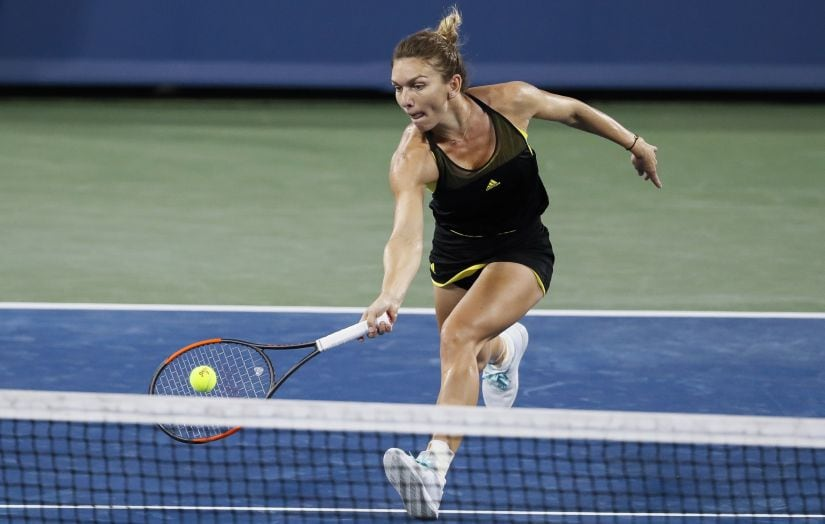 Simona Halep is the second seed but has been dealt one of the toughest first rounds - against Maria Sharapova. AP