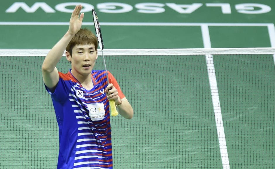 World No 1 Son Wan Ho of South Korea cruised past India's Kidambi Srikanth 21-14, 21-18. AFP
