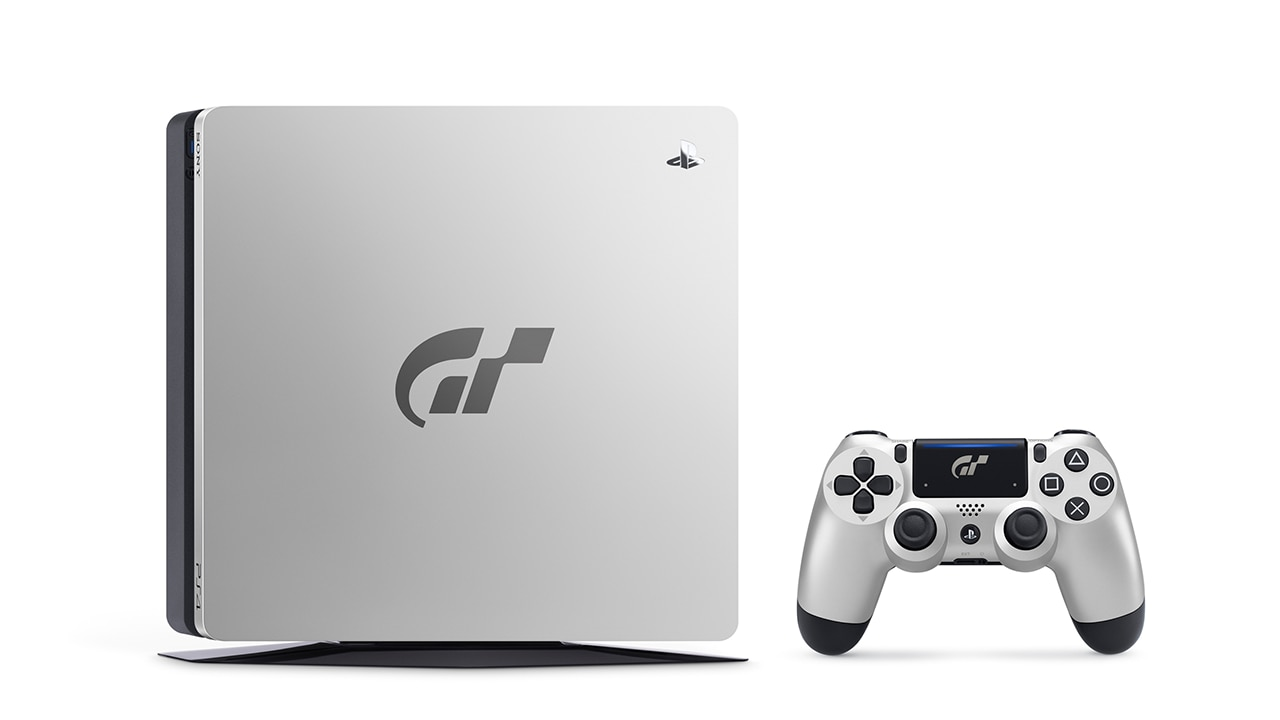 The Limited Edition console and controller will feature a silver faceplate emblazoned with the GT logo