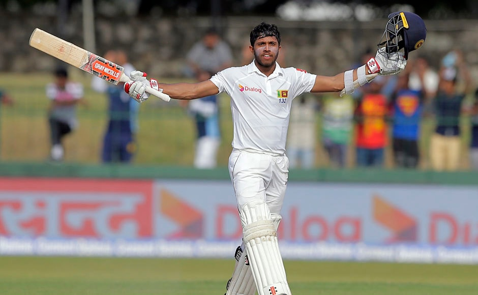 Sri Lanka's Kusal Mendis slammed his 3rd Test century against India in the 2nd innings. It was a spirited performance by the 22-year-old after India asked the hosts to follow on. AP