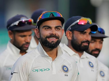 India's captain Virat Kohli. AP
