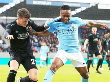 Raheem Sterling believes Manchester City needs to be more clinical. Image Courtesy: Twitter @sterling7