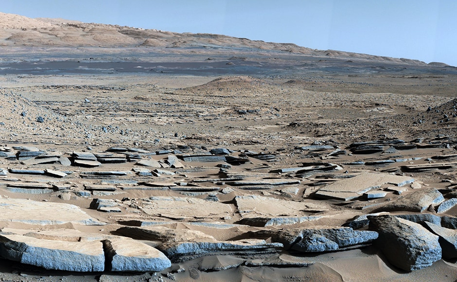 The base of Mount Sharp. Image: NASA.