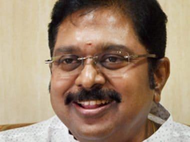 File image of AIADMK leader TTV Dhinakaran. PTI